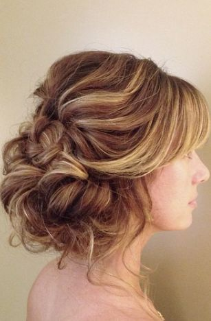 Featured Hairstyle: Heidi Marie (Garrett) Villa - Hair and Makeup Girl; Wedding ...