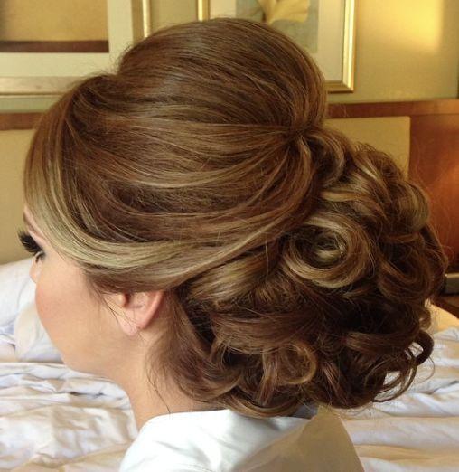 Featured Hairstyle: Heidi Marie (Garrett) Villa - Hair and Makeup Girl; Wedding ...