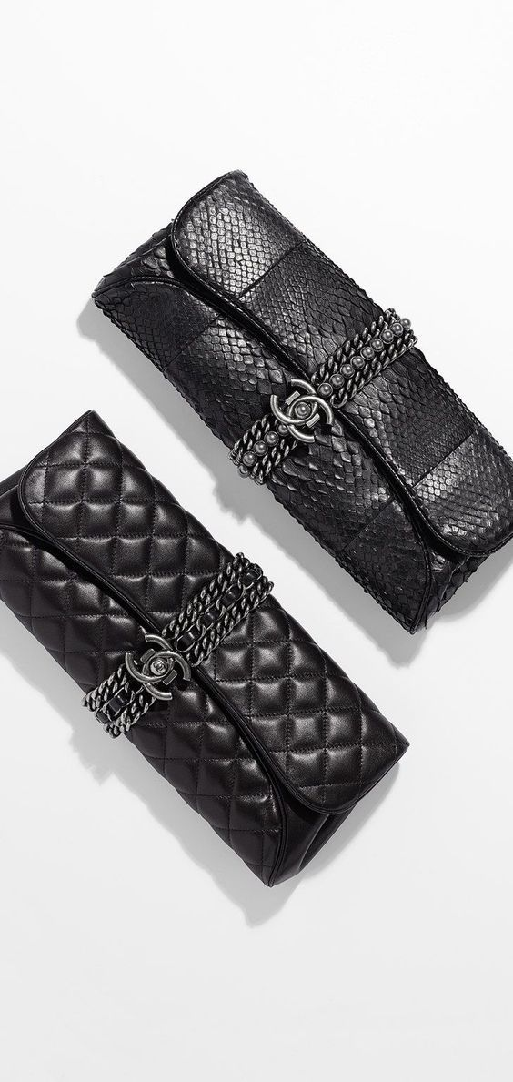 Chanel  Clutch Collection & more Luxury brands You Can Buy Online Right Now...