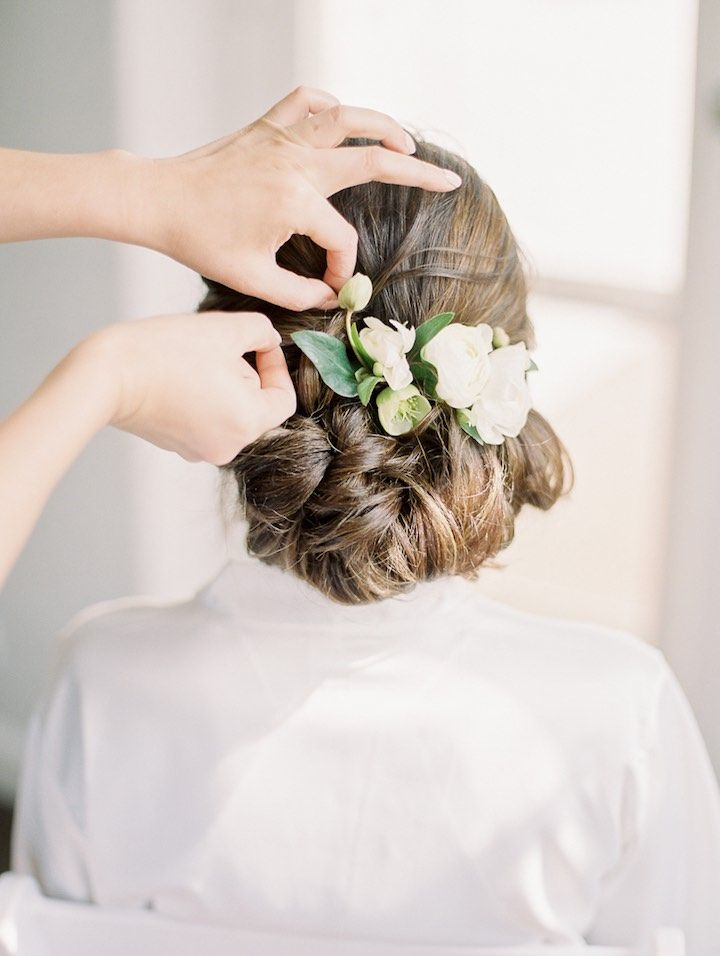 Wedding Hairstyle Inspiration - Photo: Jeremy Chou Photography