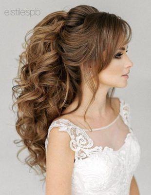 Featured Hairstyle: Elstile www.elstile.com; Wedding hairstyle idea.