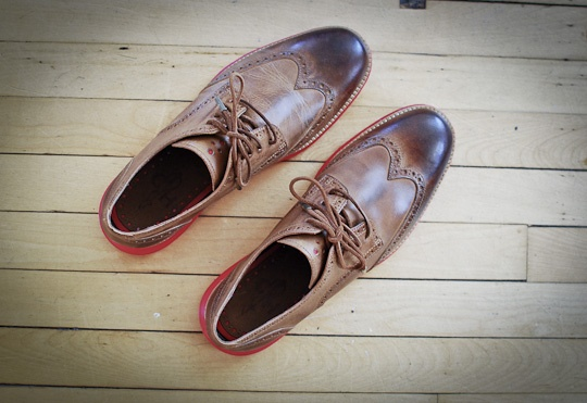 Cole Haan LunarGrand Wingtip in Leather