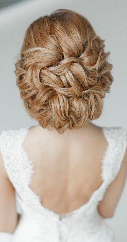 Wavy Updo Wedding Hairstyle - MODwedding