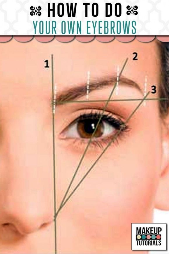 Makeup Ideas: How To Do Your Own Eyebrows. Step by step tutorial on how to creat...