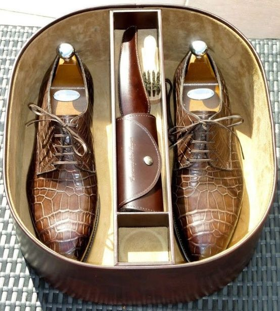 How good shoes should be kept