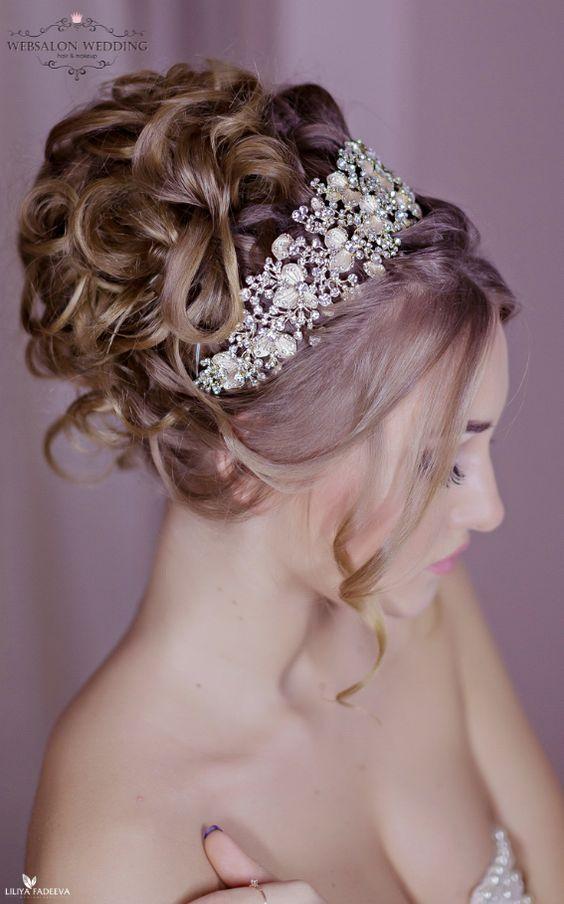 Featured Hairstyle: Websalon Wedding - Anna Komarova; Featured Photo: Liliya Fad...