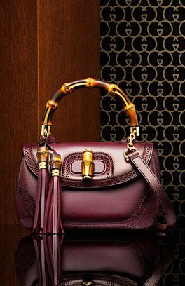 Gucci Bamboo Handbags Collection & more details