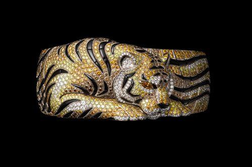Cartier Tiger Bracelet from Solar Landscape