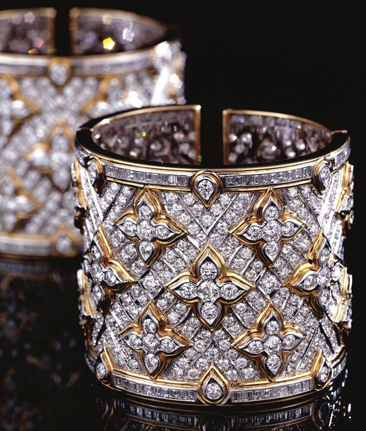 DIAMOND CUFF BANGLES, REPOSSI.
