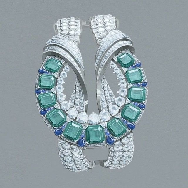Each of Van Cleef & Arpels' High Jewelry creations embodies a synthesis of...