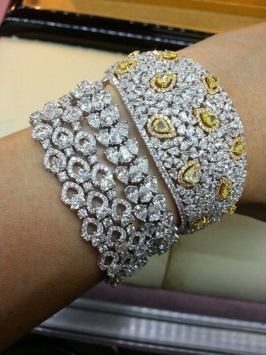 fancy diamonds bracelet...