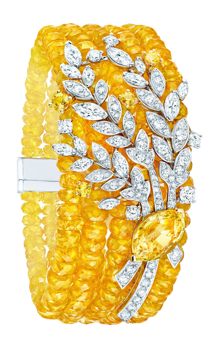 Moisson d'or #Bracelet from #LesBlesDeChanel - #Chanel - #FineJewelry collecti...