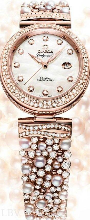 OMEGA De Ville Ladymatic Diamonds
