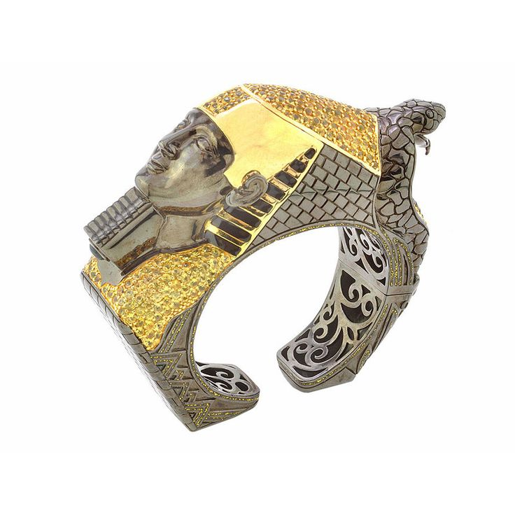 Pharaoh Cobra Cuff