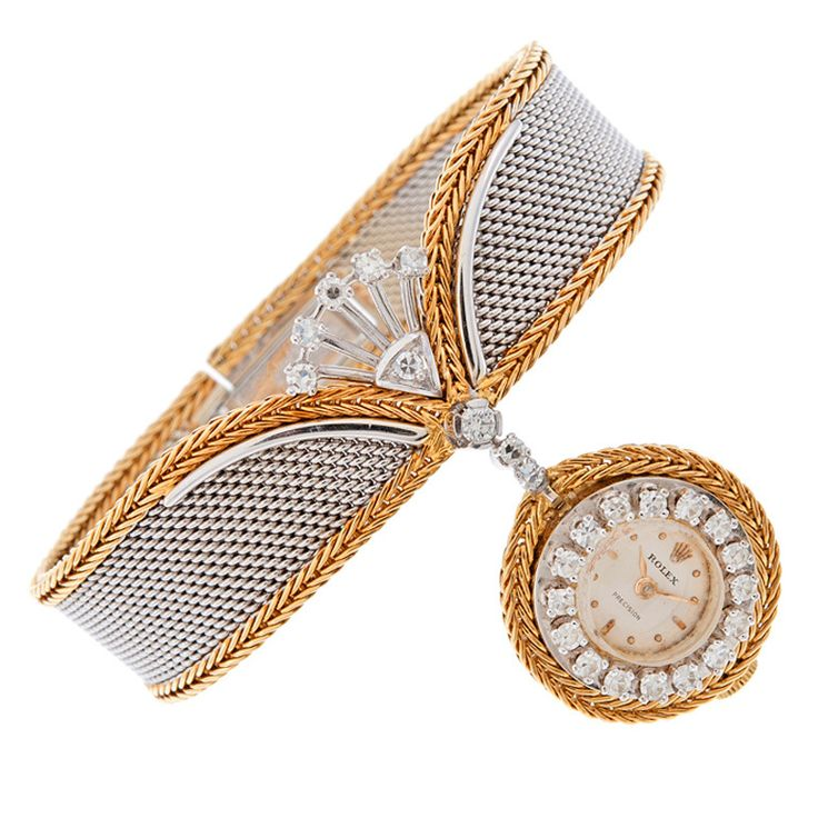 ROLEX 1960's Ladies Bracelet Watch Sold by 'Serpico y Laino'...