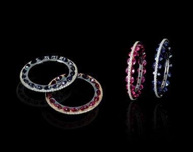 Sabbadini Gioielli:Anelli sapphire and ruby rings...