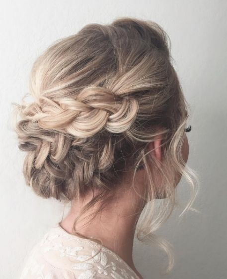 Featured Hairstyle: ashpettyhair; Wedding hairstyle idea....