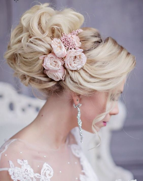 Featured Hairstyle: Websalon Wedding - Anna Komarova; www.websalon.su