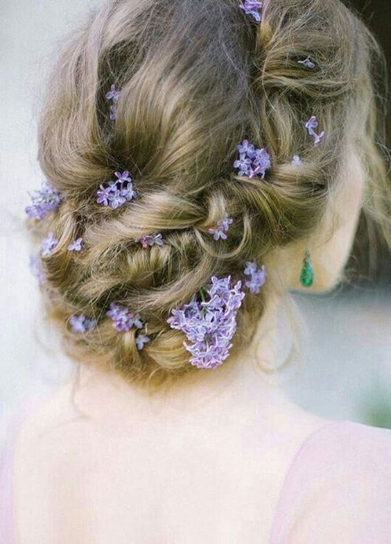 Messy Low Updo Wedding Hairstyle - MODwedding