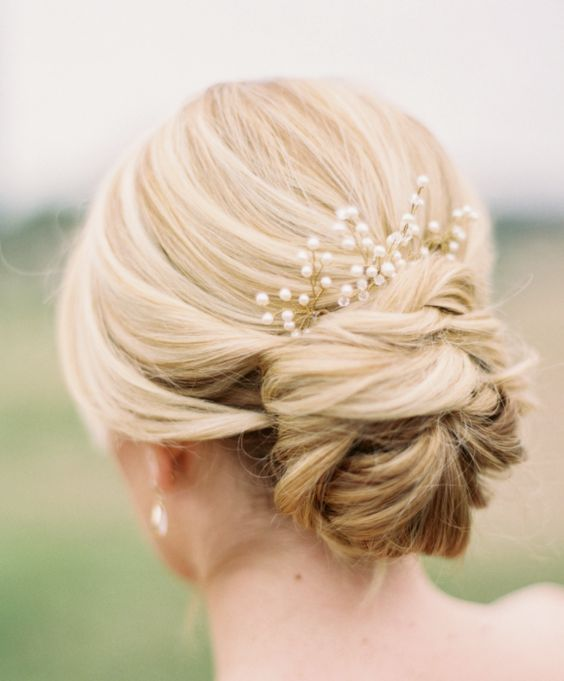 Featured Photographer: Jessica Gold Photography; Wedding hairstyle idea....