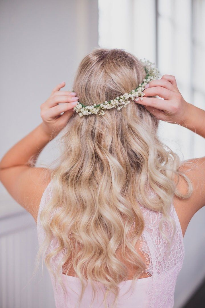 Featured photographer: Kelly Costello Photography; wedding hairstyle idea...