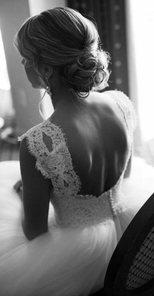 Featured Photographer: Melissa Robotti Photography; Wedding hairstyle idea....
