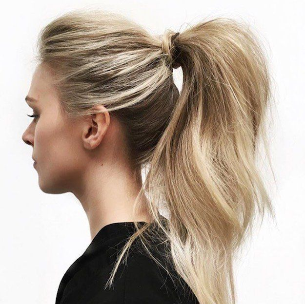 Hairstyles For Long Hair 3 Super High Ponytail Be