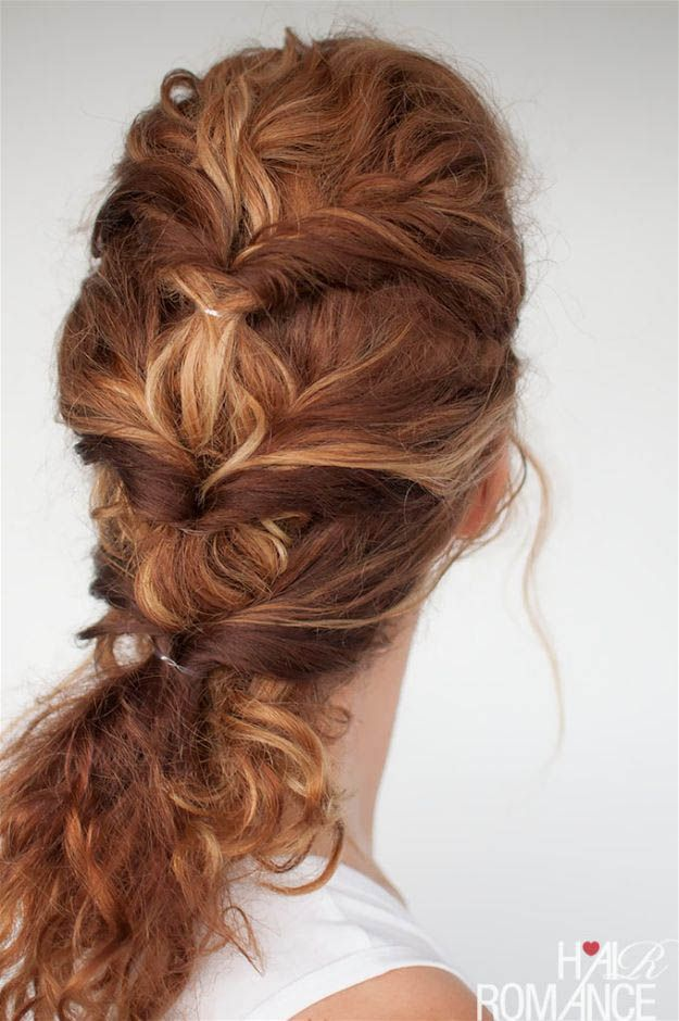 Curly Twist | 20 Hairstyles for Work | Quick and Easy Hairstyles You Can Do...
