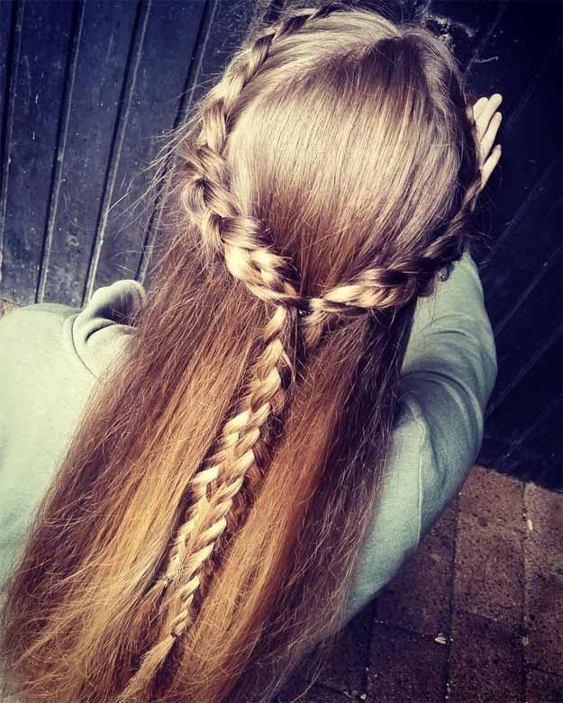 Half Braid | 20 Hairstyles for Work | Quick and Easy Hairstyles You Can Do