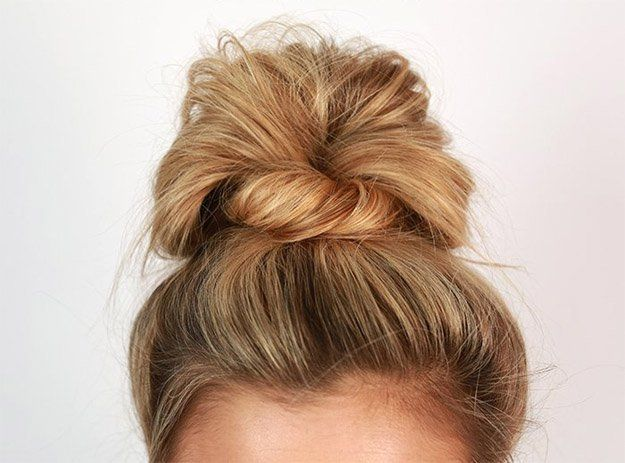 Messy Bun | 10 DIY Hairstyles For Long Hair