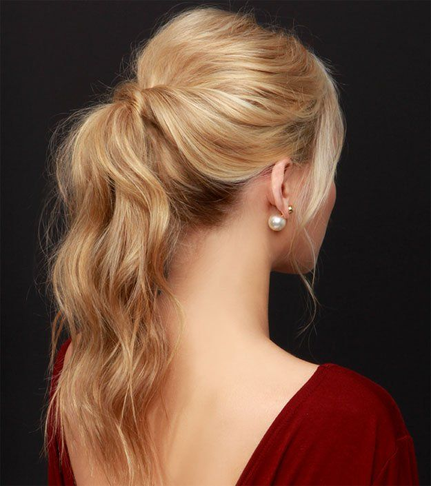 Perfect Party Ponytail | As you know, makeup and hair goes hand-in-hand and to l...