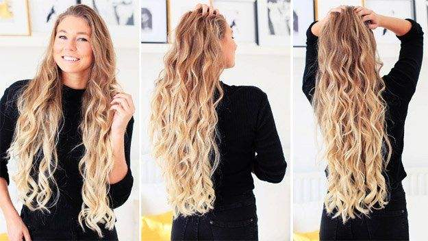 Soft, Loose Curls | Looking for cute and easy back to school hairstyles? We'...