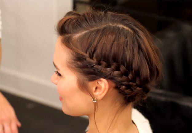 The Perfect Halo Braid For Short Hair | Looking for cute and easy back to school...