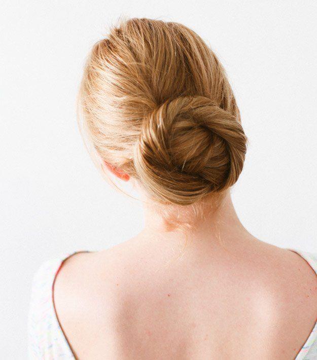 Twisted Bun | 10 DIY Hairstyles For Long Hair