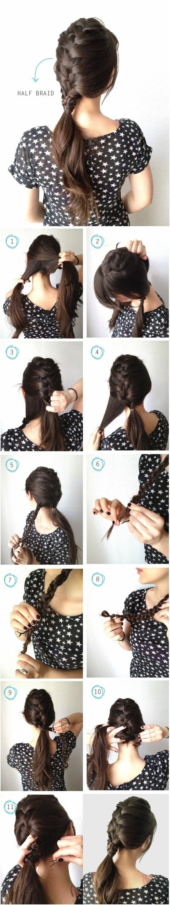 21 Braided Hair Tutorials   Gorgeous Hairstyles To Try by Makeup Tutorials at ma...