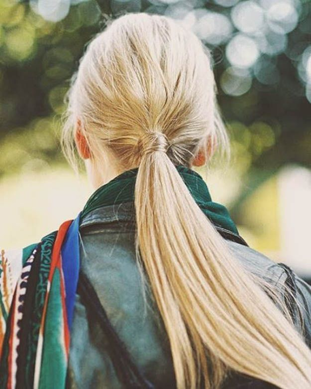 Wrapped Ponytail | 20 Hairstyles for Work | Quick and Easy Hairstyles You Can Do...