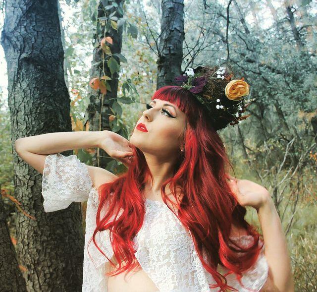 Forest Romance  #Hair: Brynne Dubin Hair  Photo: Chelsea Haines  Model/MUA: Silv...
