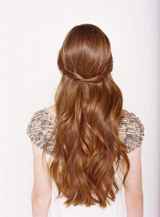 Half up Half down Wedding Hair...