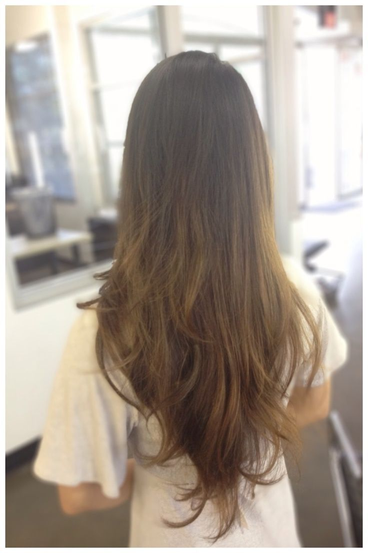The Simplest Ways of V-Shaped Haircut Long Hair: The Simplest Ways Of V Shaped H...