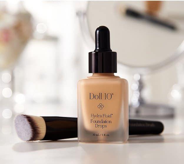 Doll 10 Hydra Fluid Foundation Drops | Best High-End Foundation List | Makeup Tu...