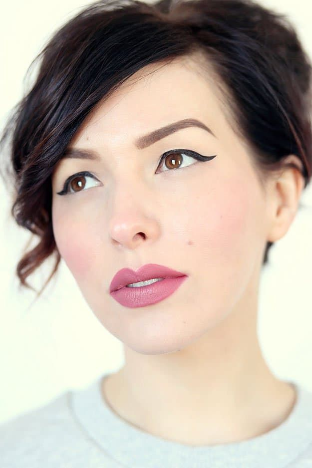 Dusty Rose Lips | Best Lipstick Colors For Spring | Makeup Tutorials...