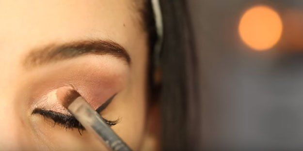 Festive Rose Gold Makeup Tutorial, check it out at makeuptutorials.c......