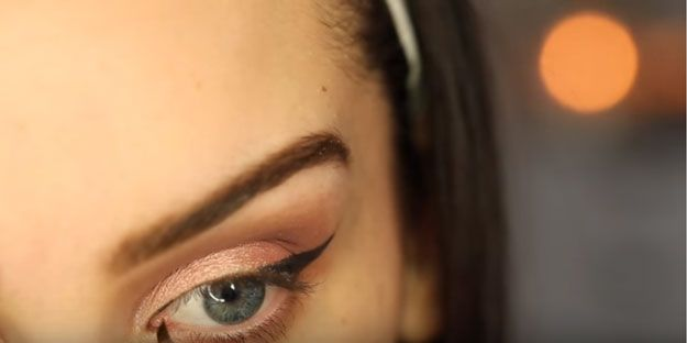 How To Apply Winged Eyeliner With Gel Liner, check it out at makeuptutorials.c.....