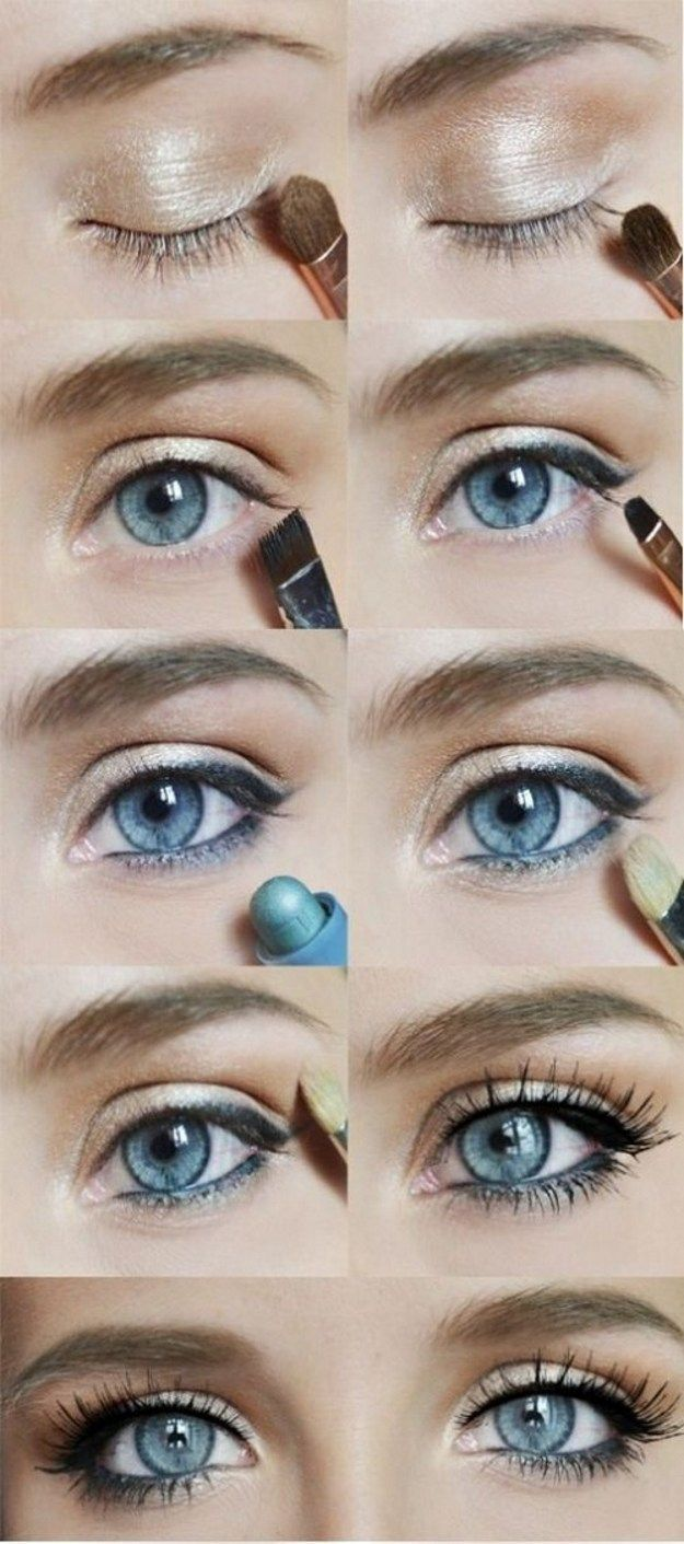 How to Do Subtle Eye Makeup | Simple Everyday Look by Makeup Tutorials at www.ma...