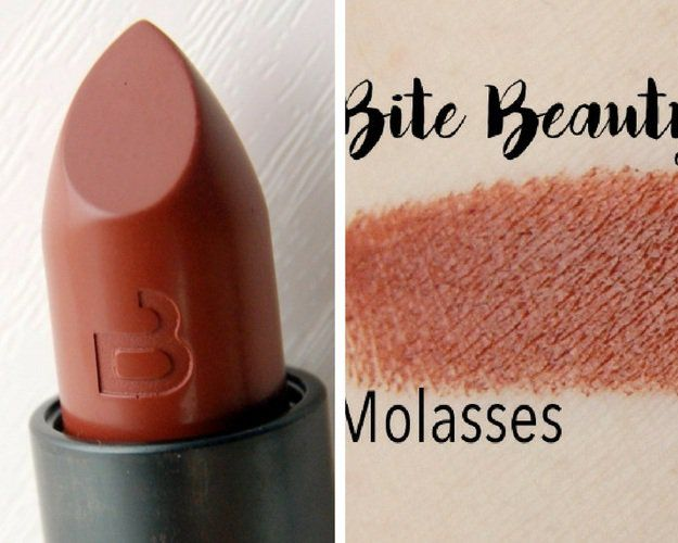 Molasses by Bite Beauty | 13 Winter Lipstick Shades Your Makeup Bag Needs...