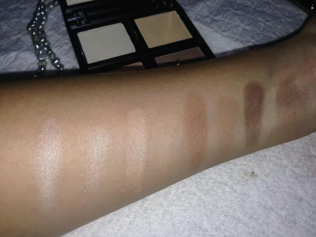 Swatches with Flash | ELF Contour Palette Review Should You Bother Getting This ...