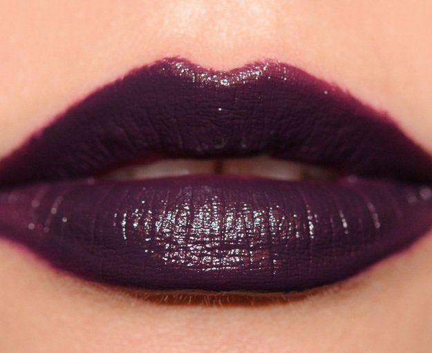 Villain Swatch | 13 Winter Lipstick Shades Your Makeup Bag Needs...