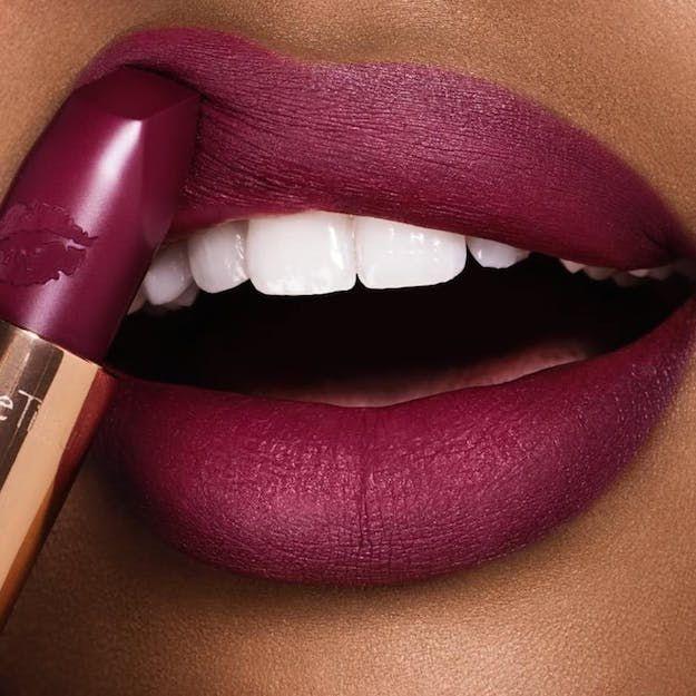 Hel's Bells by Charlotte Tilbury Swatch | 13 Winter Lipstick Shades Your Mak...