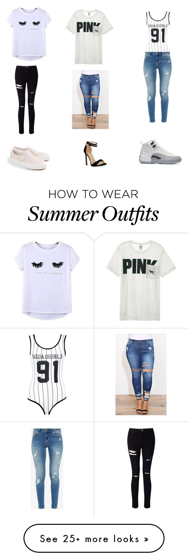 """""""3 of my favorite outfits"""" by wilmelyalmanzar on Polyvore featuring Vi..."""