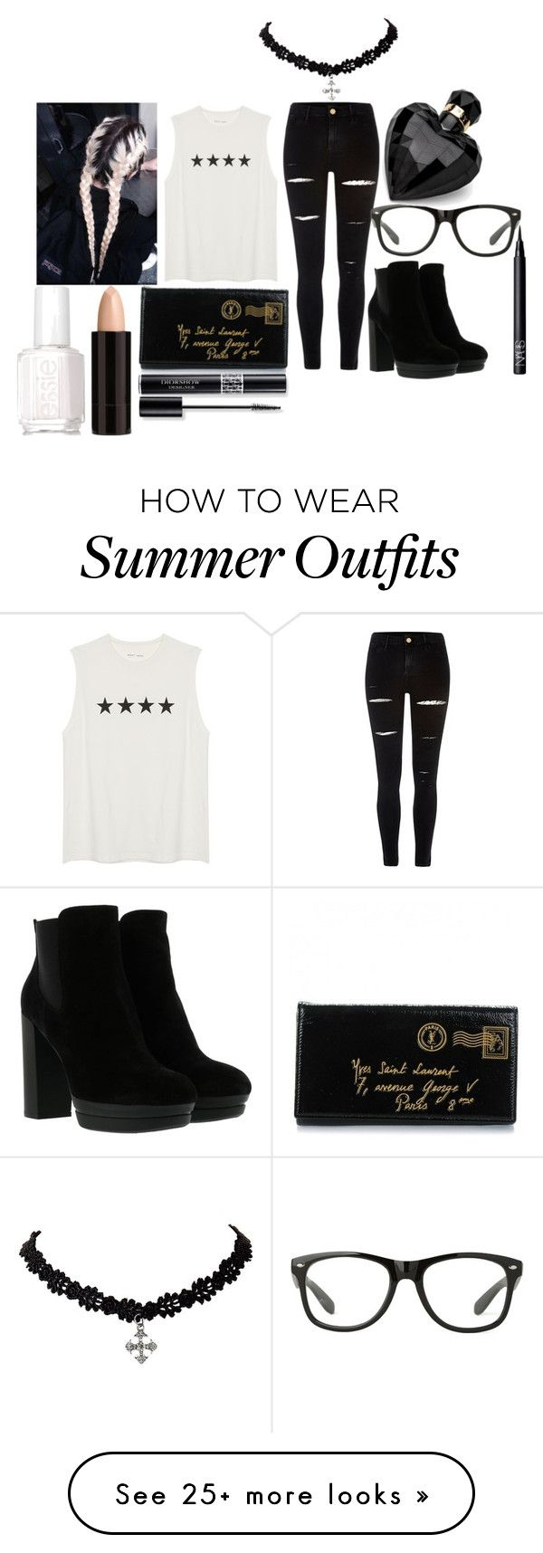 """""""4 Stars"""" by nudge-411 on Polyvore featuring River Island, Yves Saint ..."""